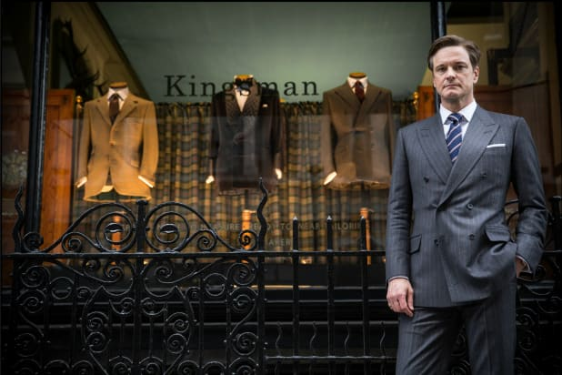 Colin Firth Kingsman The Secret Service Photo Still