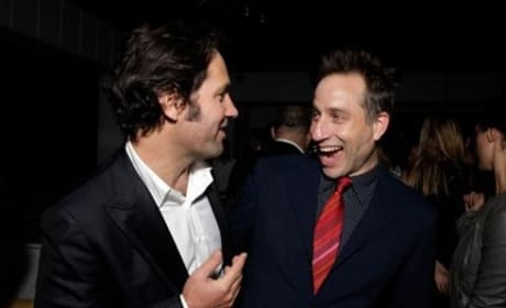 Paul Rudd and Jesse Peretz at Our Idiot Brother Premiere