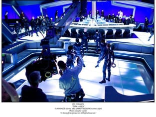 Shooting a Scene in Tron Legacy