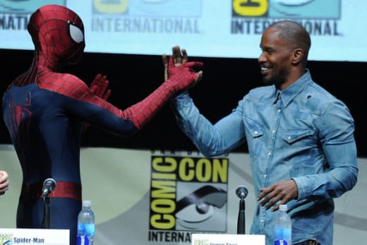 Jamie Foxx Amazing Spider-Man Comic-Con