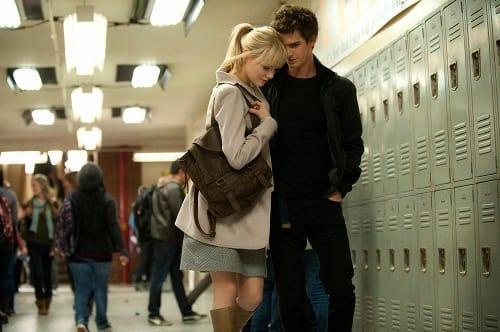 Emma Stone Andrew Garfield The Amazing Spider-Man