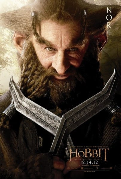 The Hobbit Nori Poster