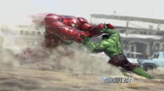 The Hulk Battles Iron Man?