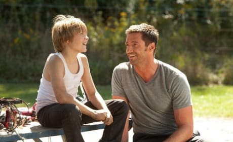 Dakota Goyo and Hugh Jackman Star in Real Steel