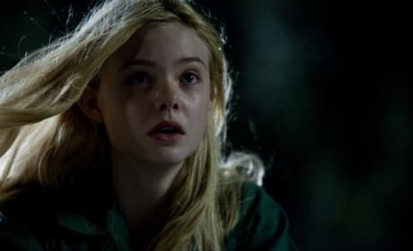 Elle Fanning as Alice in Super 8