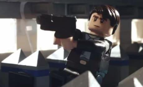 Non-Stop Liam Neeson LEGO