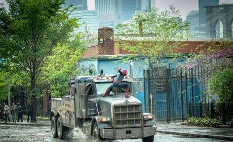 The Amazing Spider-Man 2 Rhino Truck