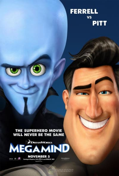 Megamind Domestic Poster