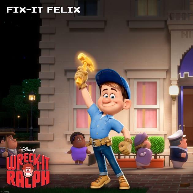 Fix-It Felix in Wreck-It Ralph