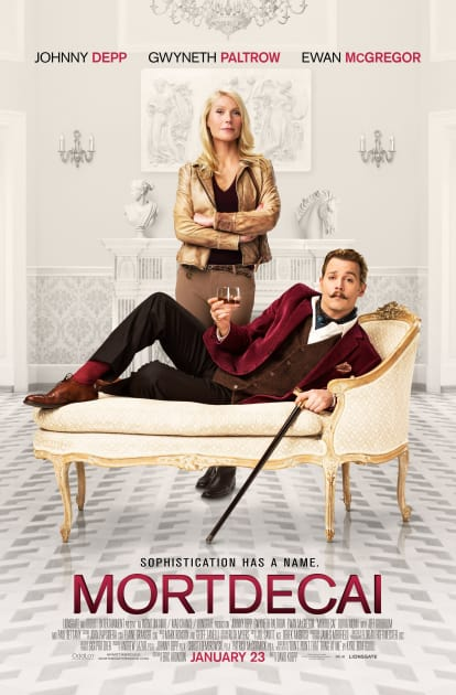 Mortdecai Official Poster