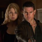Tom Cruise and Rosamund Pike Jack Reacher