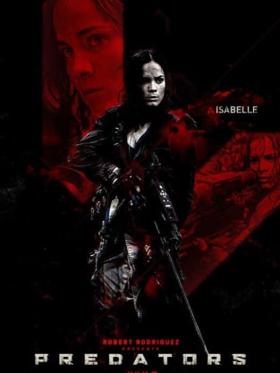 Predators Character Poster: Isabelle