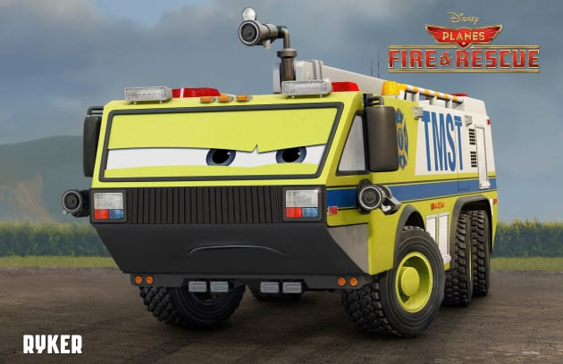 Planes Fire and Rescue Ryker Poster