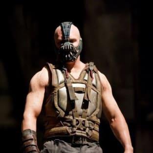 Tom Hardy is Bane