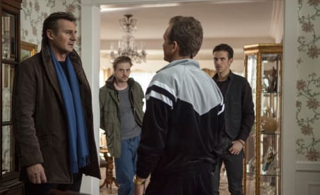 Liam Neeson Dan Stevens A Walk Among the Tombstones