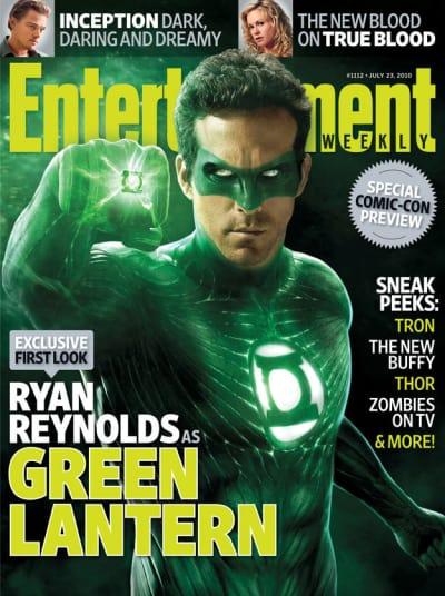 EW Ryan Reynolds Green Lantern Cover