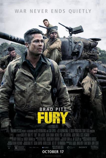 Fury Movie Poster