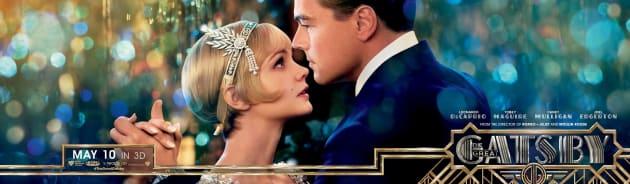 The Great Gatsby Banner Leonardo DiCaprio Carey Mulligan