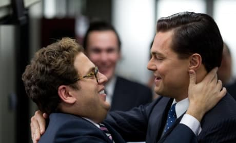 The Wolf of Wall Street: Jonah Hill & Leonardo DiCaprio Dish Scorsese Sizzler