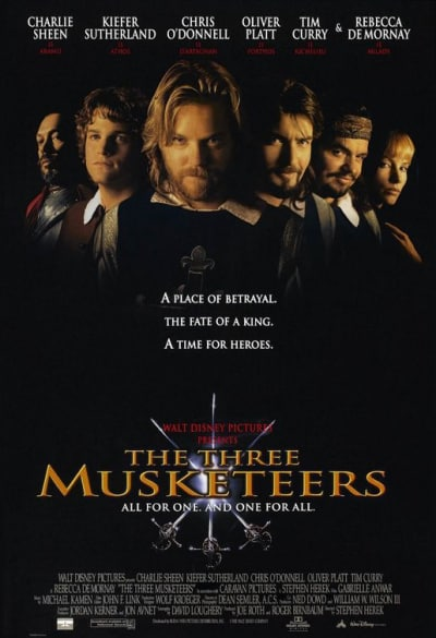 The Three Musketeers Original Poster