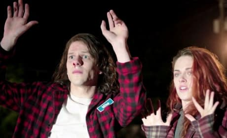 American Ultra Trailer: Kristen Stewart Discovers Jesse Eisenberg Is a Stoned Cold Killer