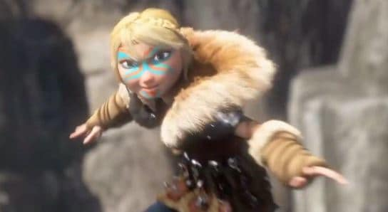 How to Train Your Dragon 2 Astrid Clip