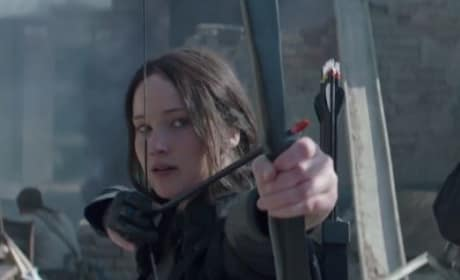 Mockingjay Part 1 Katniss Photo