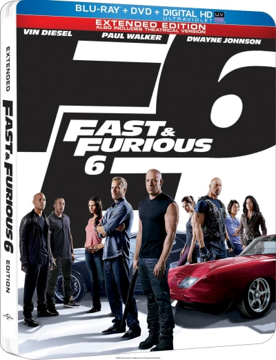 Fast and Furious 6 DVD