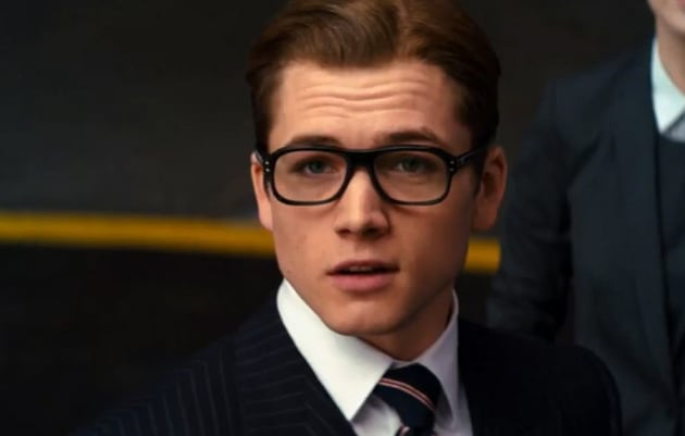 Kingsman The Secret Service Taron Egerton
