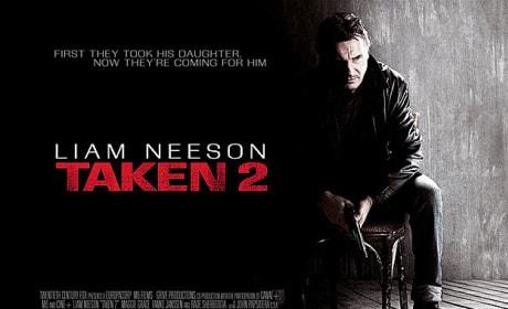 Taken 2 Poster Debuts: Liam Neeson's Thriller Sequel