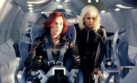 Jean Grey and Storm