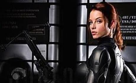 Rachel Nichols is Scarlett in G.I. Joe: The Movie