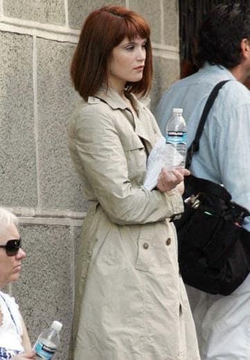 Gemma Arterton on Set