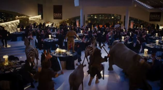 Night at the Museum: Secret of the Tomb Gala Scene