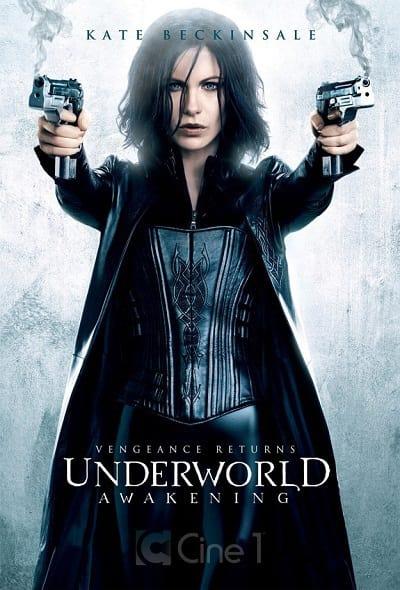 Kate Beckinsale in Underworld Awakening Poster