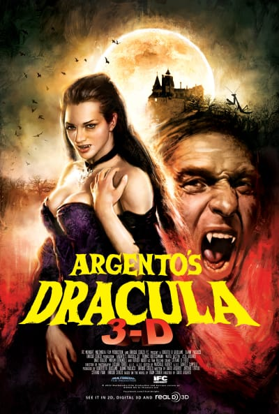 Argento's Dracula 3D Poster
