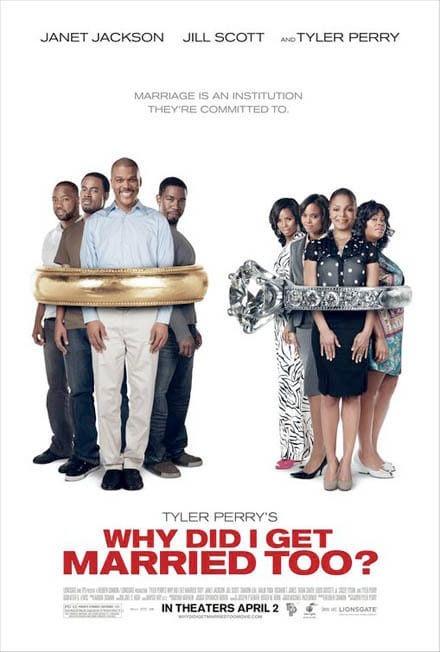 Alternative Why Did I Get Married Too Movie Poster