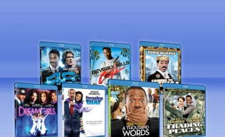 Eddie Murphy Exclusive Blu-Ray Giveaway: Win a 7 DVD Set!