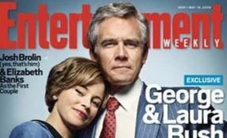 Josh Brolin and Elizabeth Banks are George, Laura Bush