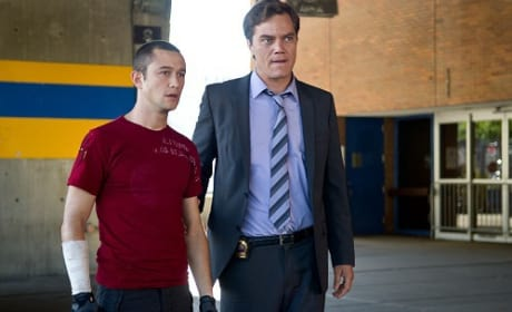 Joseph Gordon-Levitt and Michael Shannon Premium Rush