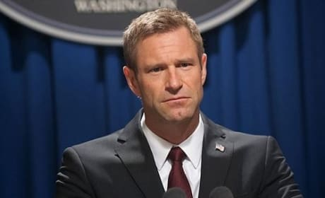 Olympus Has Fallen: Aaron Eckhart On Playing a Bad Ass President