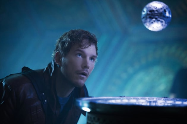 Guardians of the Galaxy Chris Pratt is Star Lord