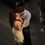 K. Stew and R. Patt Kissin' in Rio