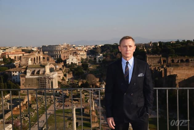 Spectre Daniel Craig Rome Photocall