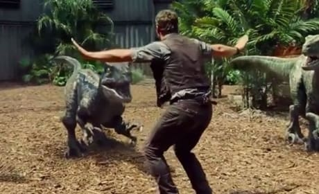 Jurassic World Clip: Meet the Raptor Squad!