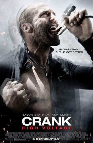 Crank 2: High Voltage Movie Poster
