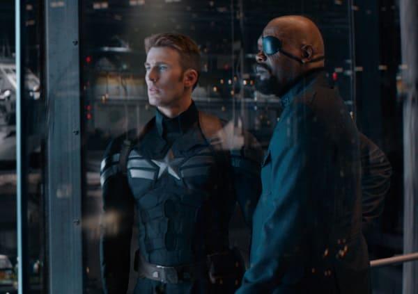 Captain America The Winter Soldier Chris Evans Samuel L. Jackson