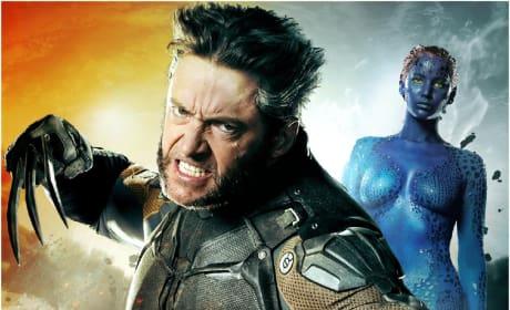 Wolverine Mystique X-Men: Days of Future Past Poster