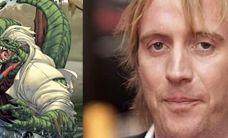 Rhys Ifans Playing The Lizard in Spider-Man?