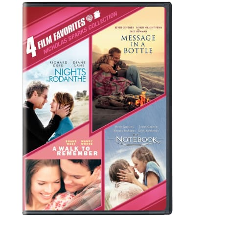 Nicholas Sparks 4-DVD Collection